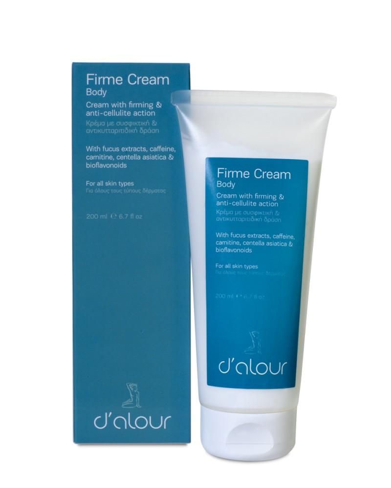 Firme Cream – Κρέμα με φυτικά εκχυλίσματα για σύσφιξη & κυτταρίτιδα