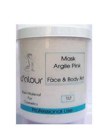 Mask Pink Argile – Ροζ Άργιλος σε σκόνη για σύσφιξη, φωτεινότητα