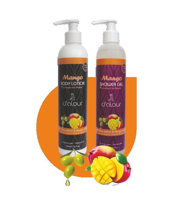 Body Lotion & Shower gel Mango – Γαλάκτωμα σώματος & αφρόλουτρο με εκχύλισμα μάνγκο