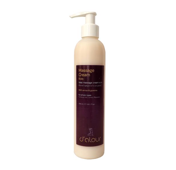 Massage Cream – Ρευστή κρέμα ιδανική για μασάζ σώματος