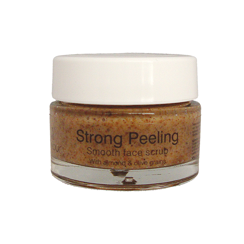 Strong Peeling – Peeling με κόκκους αμυγδάλου & ελιάς