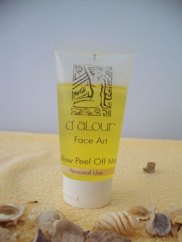Yellow Peel Off Mask