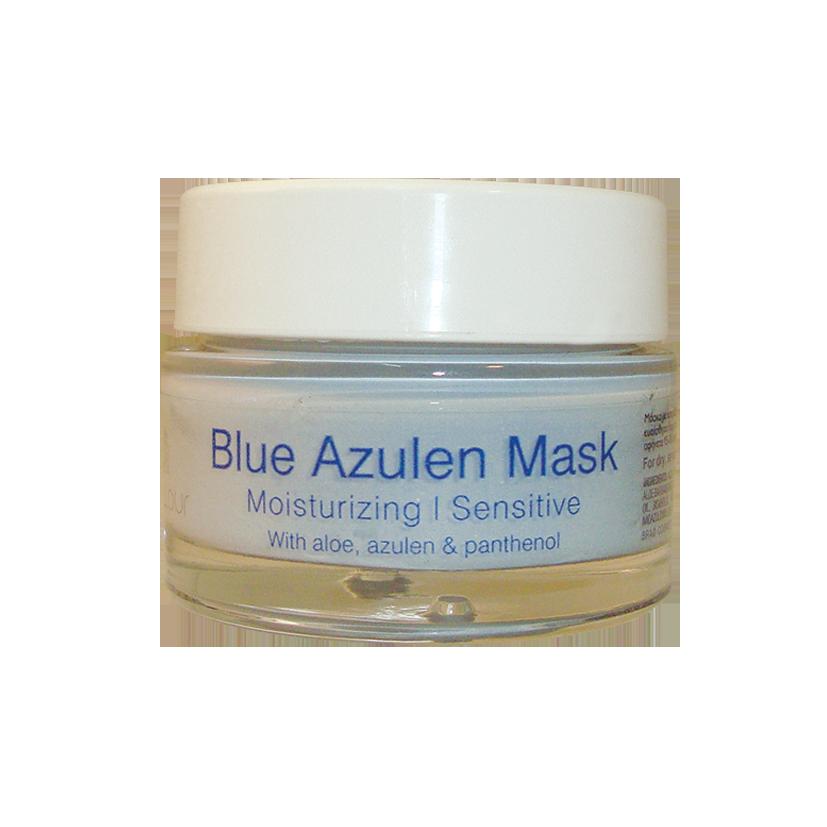 Blue Azulen Mask – Κρεμώδης μάσκα με αλόη & αζουλένιο