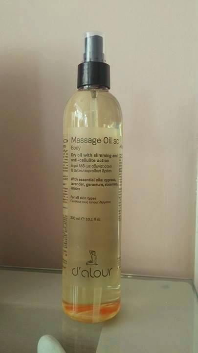Massage Oil SC