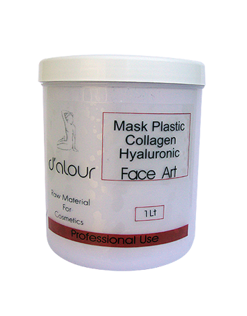 Mask Plastic Collagen Hyaluronic