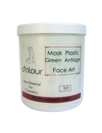 Mask Plastic Green Antiage