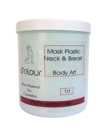 Mask Plastic Neck & Breast