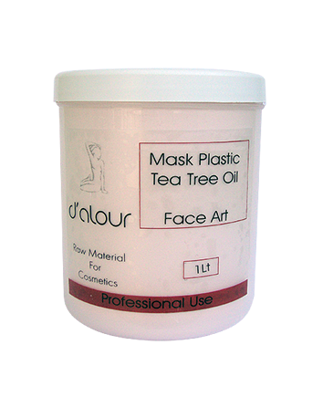 Mask Plastic Tea Tree Oil