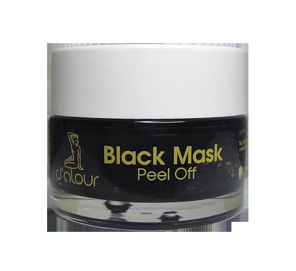 Black peel off mask – Μαύρη καθαριστική μάσκα με bamboo
