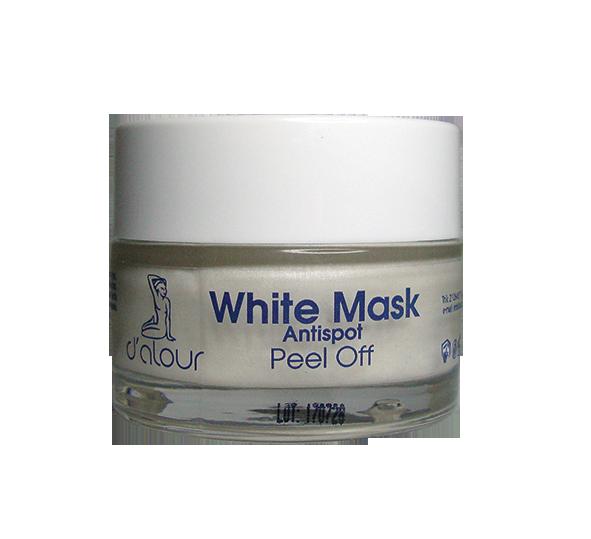 White peel off mask – Λευκαντική μάσκα με α-Arbutin & Diamond white